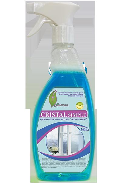 фото-картинка Средство для мытья стекол Cristal simple