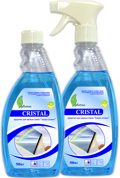 фото-картинка Средство для мытья стекол Cristal