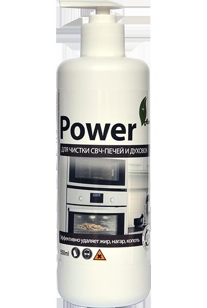 фото-картинка Гель для чистки печей и духовок Power