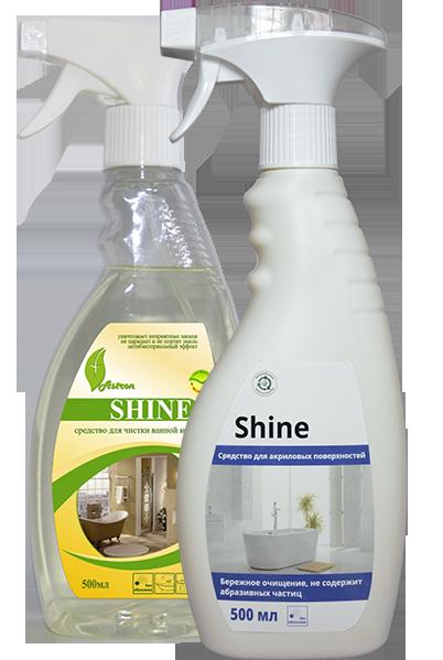 фото-картинка Средство для чистки ванной комнаты Shine